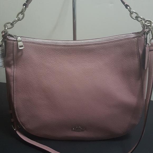 f780feb9a1 Coach Bags | Pebbled Leather Elle Dusty Rose Hobo | Poshmark